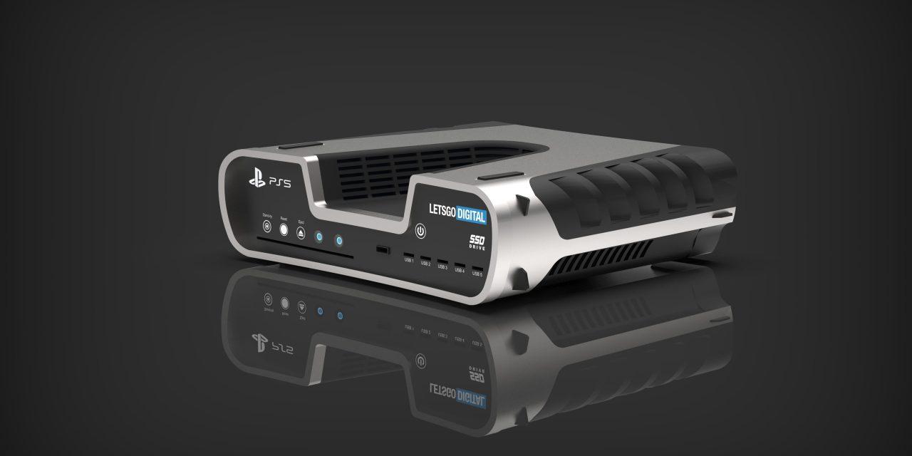 Mögliches Playstation 5 Design in Patent von Sony aufgetaucht