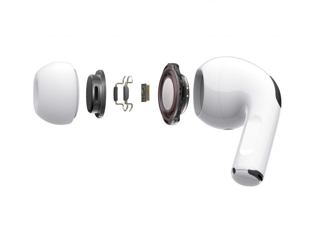 AirPods Pro mit aktiver Geräuschunterdrückung, Bild: Apple.com