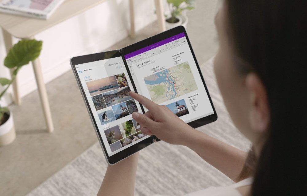 Microsoft stellt Surface mit dualen Display vor: Surface Neo
