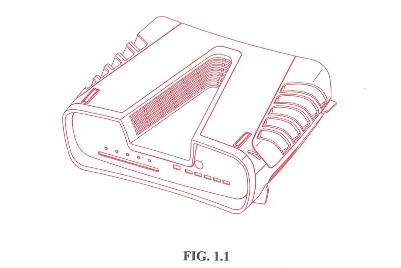 Patent von Sony zum Playstation 5 Design