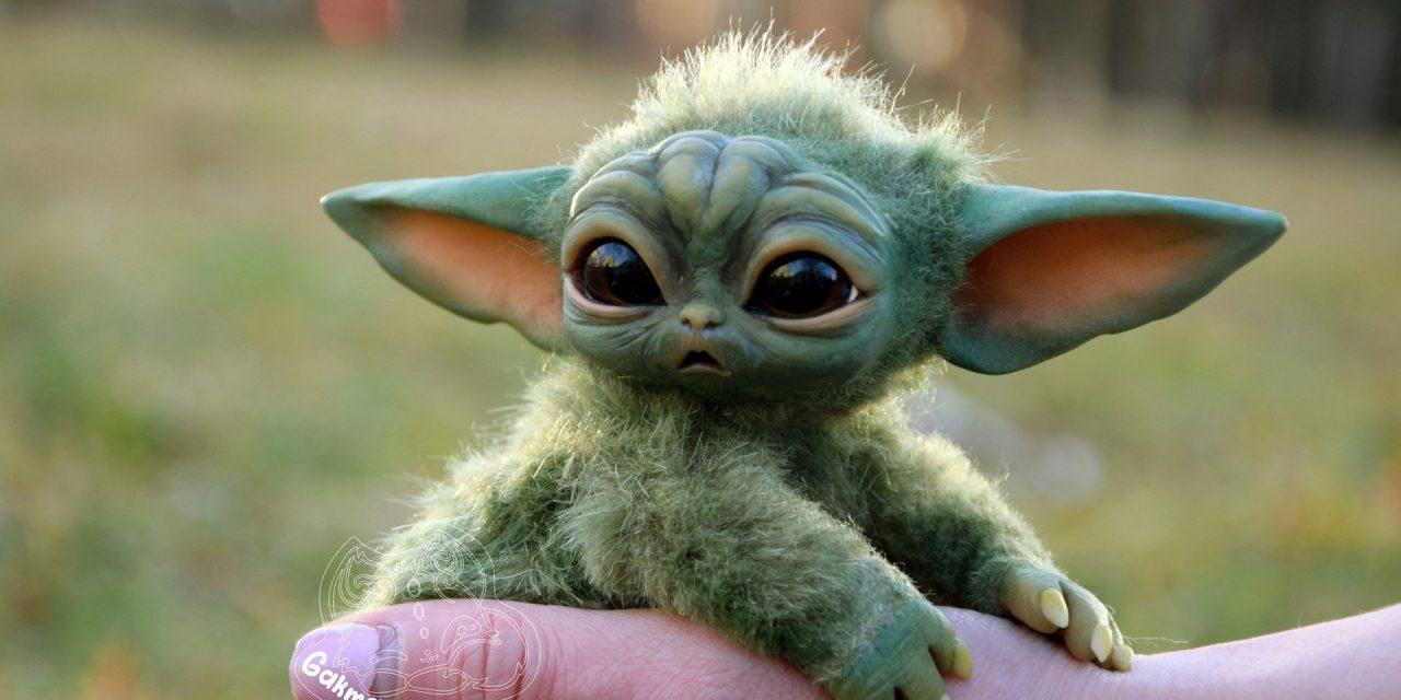Baby-Yoda Spielzeug mit hoher Nachfrage