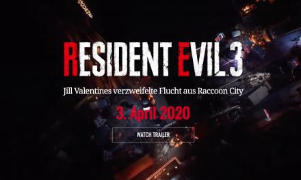 Resident Evil 3 für Playstation 4, Xbox One und PC angekündigt