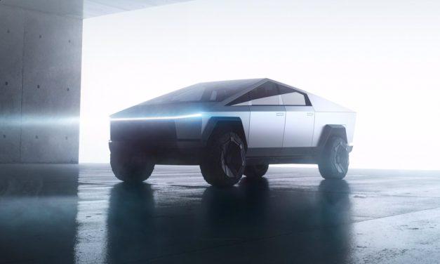 Beschleunigung vom Tesla Cybertruck für Filmaufnahmen