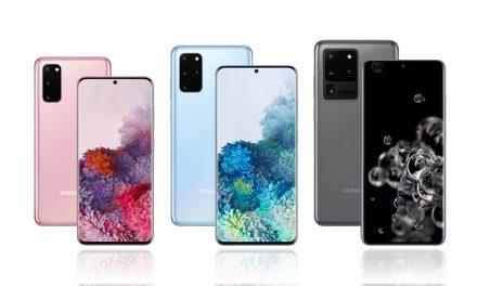 Die neue Samsung Galaxy S20-Serie